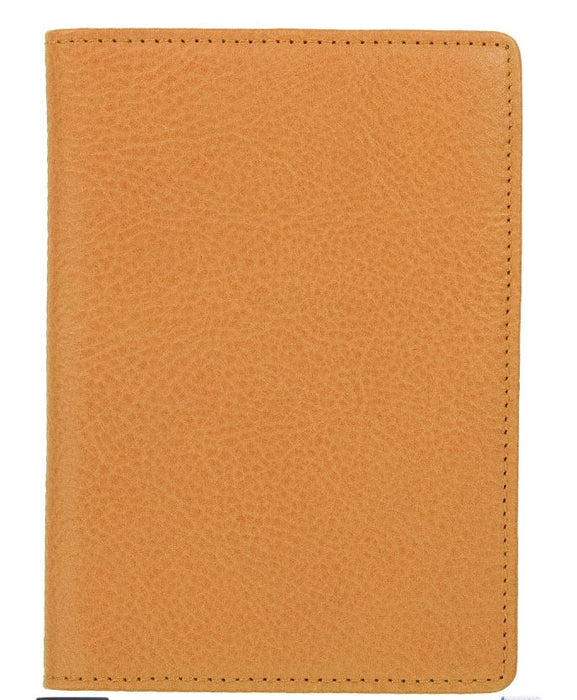Leather Passport Holder Passport Holder Boulevard Tan