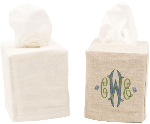 Linen Tissue Box Cover Tissue Box Covers Jacaranda Living