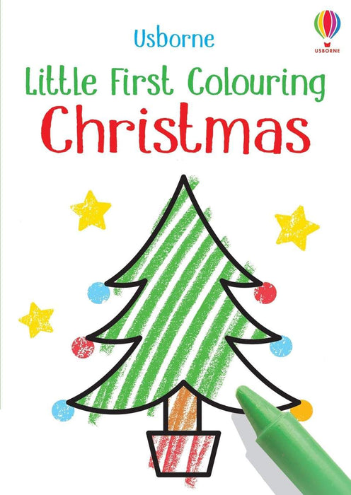 Little Coloring Book - Christmas Book Usborne