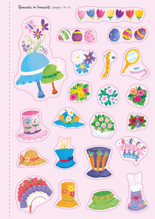 Little Sticker Book - Bunnies Book Usborne