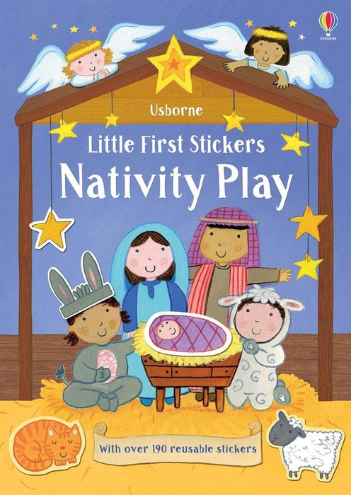 Little Sticker Book - Nativity Book Usborne