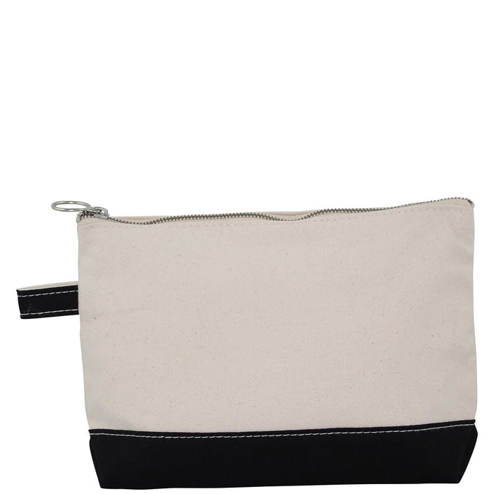 Makeup Zip Pouch Cosmetic/Accessories Bags CB Station Black