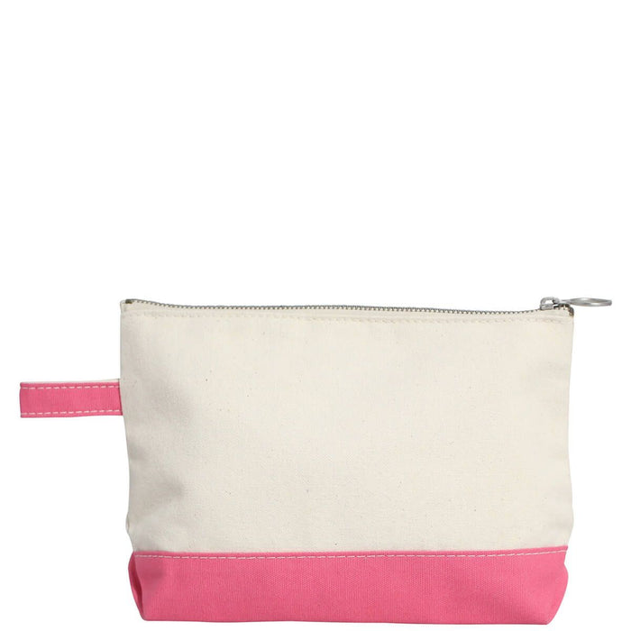 Makeup Zip Pouch Cosmetic/Accessories Bags CB Station Coral