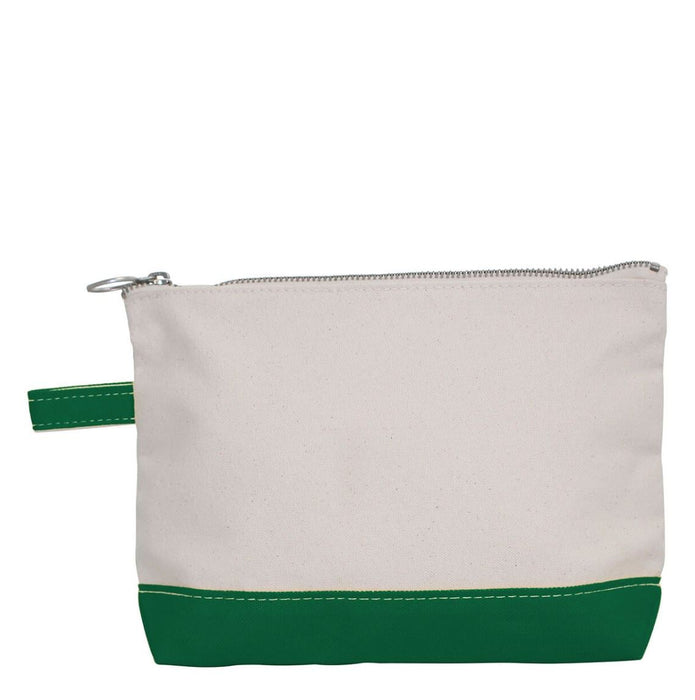 Makeup Zip Pouch Cosmetic/Accessories Bags CB Station Emerald