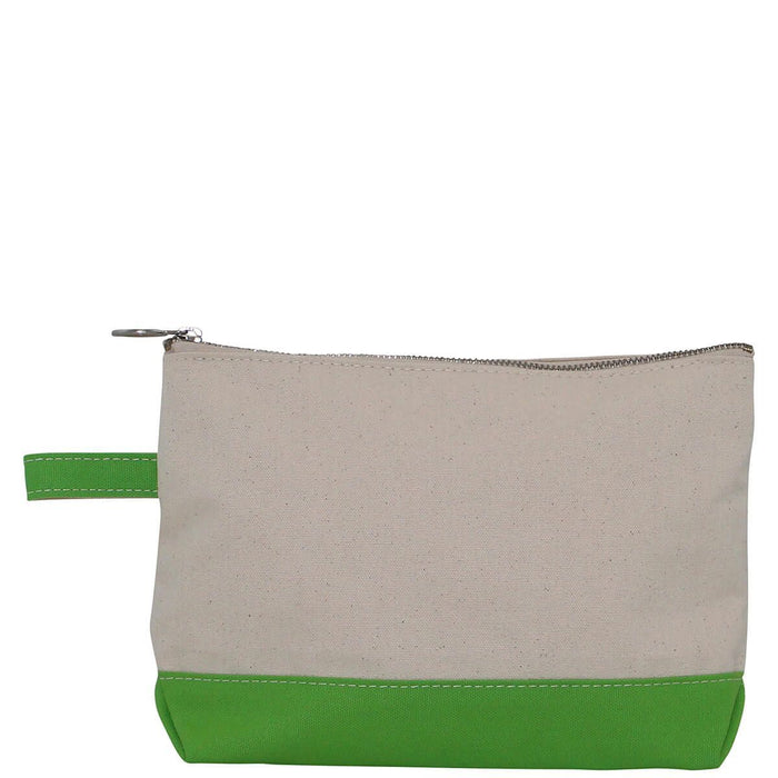 Makeup Zip Pouch Cosmetic/Accessories Bags CB Station Grass Green