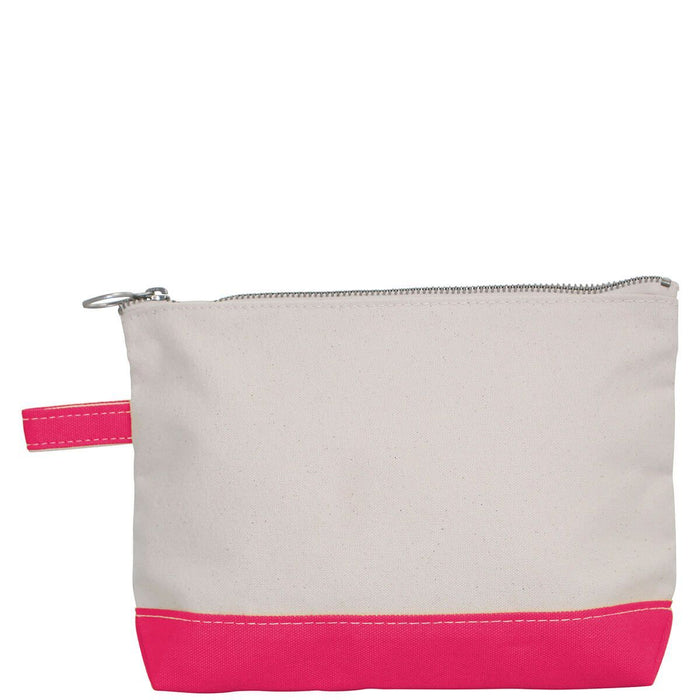 Makeup Zip Pouch Cosmetic/Accessories Bags CB Station Hot Pink
