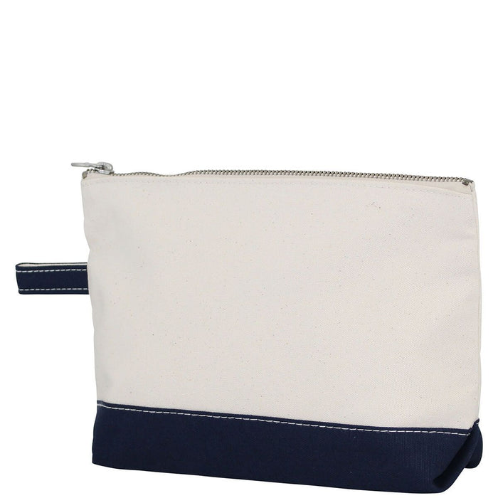 Makeup Zip Pouch Cosmetic/Accessories Bags CB Station Navy