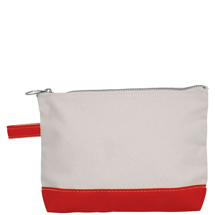 Makeup Zip Pouch Cosmetic/Accessories Bags CB Station Red