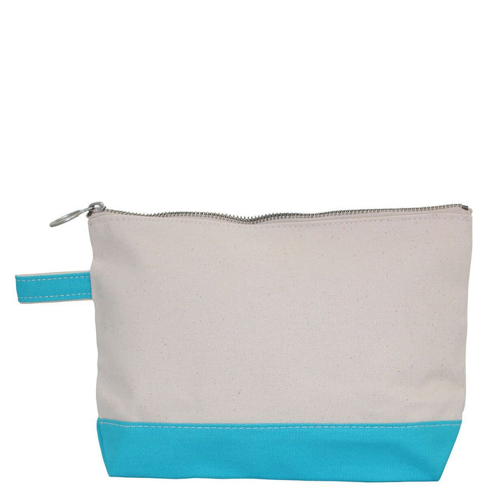 Makeup Zip Pouch Cosmetic/Accessories Bags CB Station Turquoise