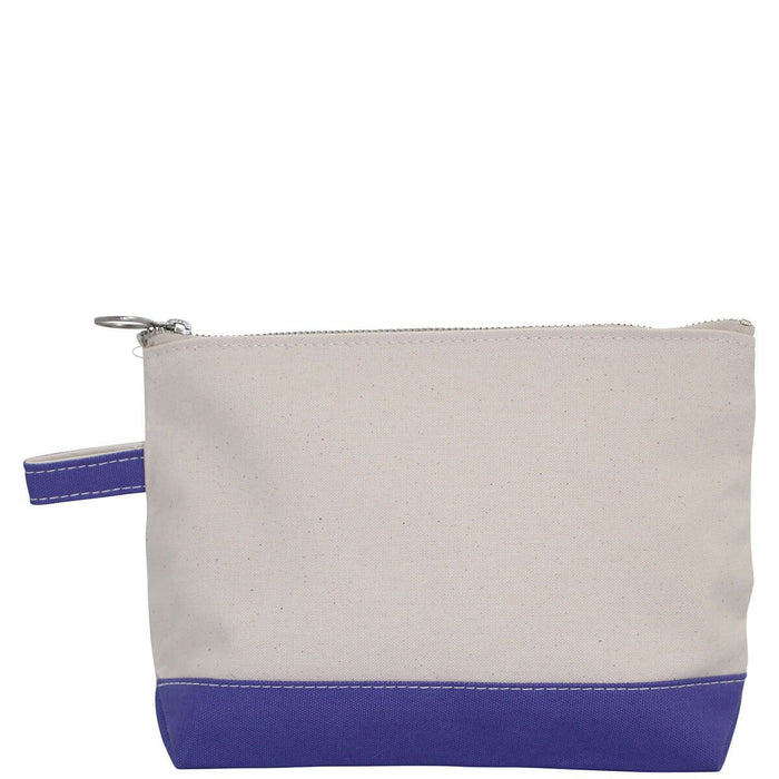Makeup Zip Pouch Cosmetic/Accessories Bags CB Station Violet