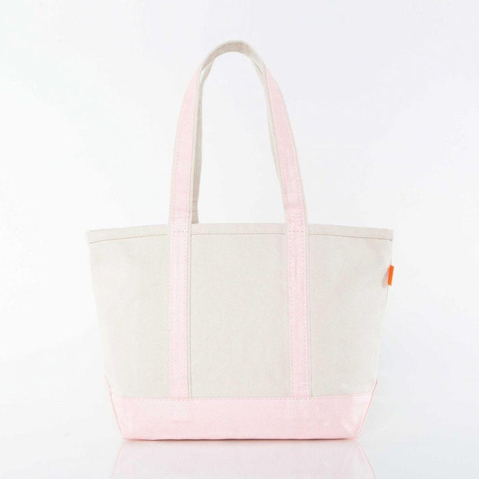 Medium Metallic Boat Tote Tote CB Station Pink