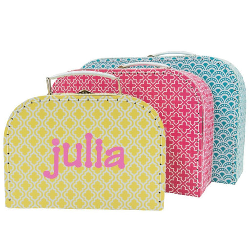 Moroccan Geometrics Suitcases Toy Boxes Sass and Belle