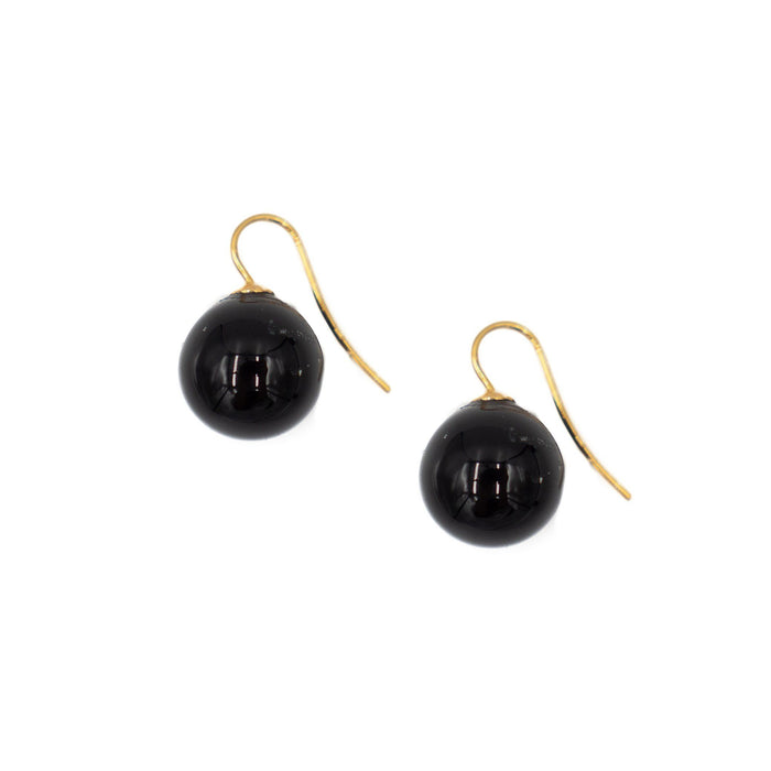 Natalie Earring Earrings Hazen & Co. Black