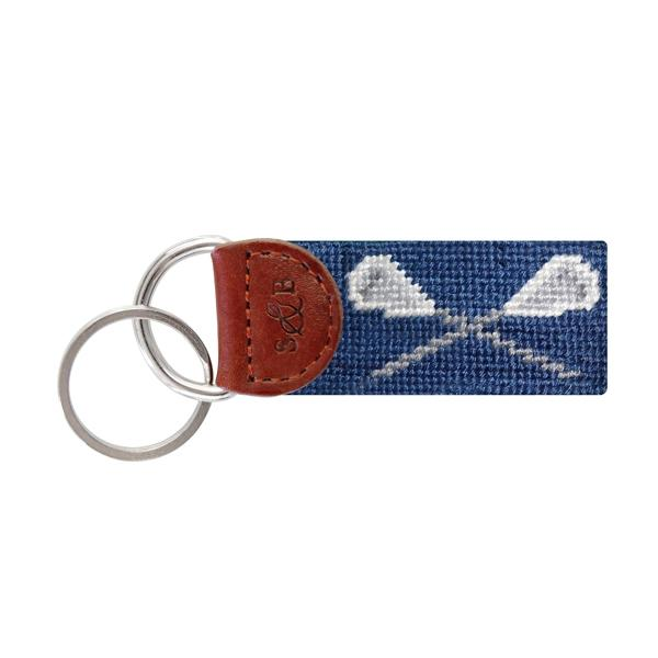 Needle Point Key Fob Key Fobs Smathers and Branson Lacrosse