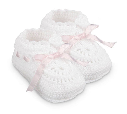 Newborn Booties 2681 Booties Jefferies Socks Pink