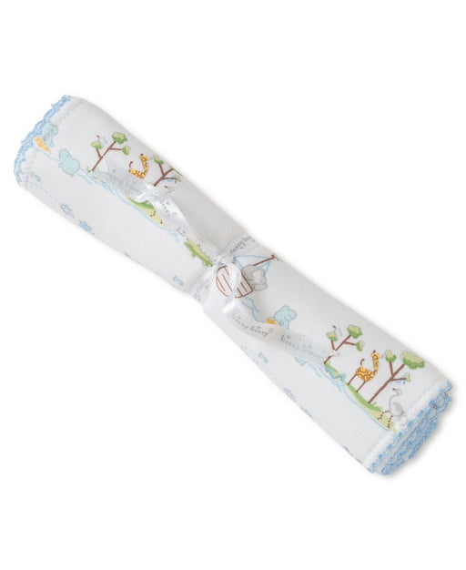 Noah's Ark Burp Cloth Burp Cloths Kissy Kissy Blue