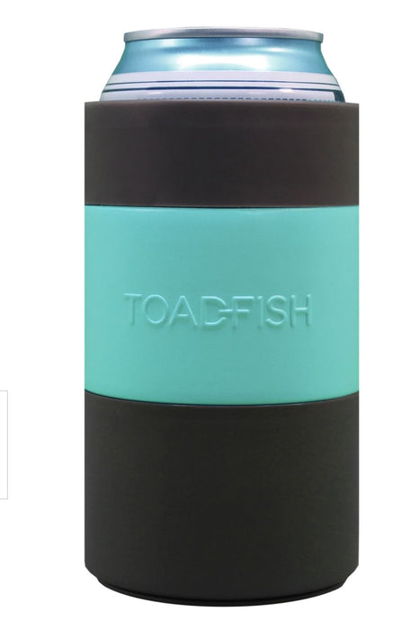 Non-Tipping Can Cooler - Teal Drinkware Toadfish