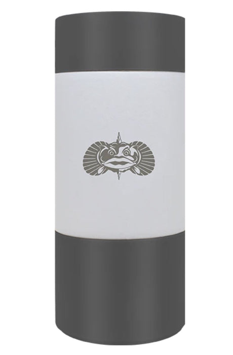 Non-Tipping Slim Can Cooler - White Drinkware Toadfish