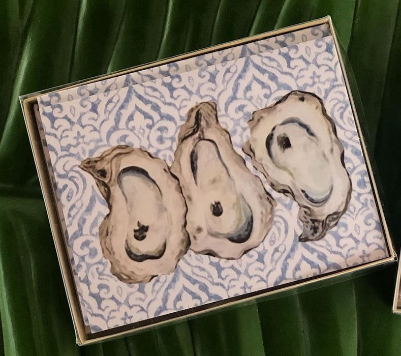 Note Card Sets Note Card Low Country Linens Oysters