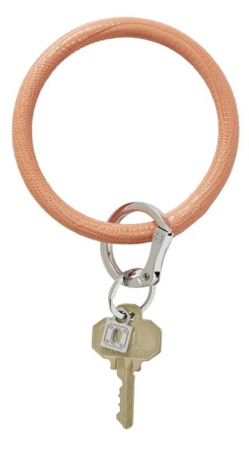 O-Ring - Leather Keychains Oventure Coral Reef Lizard