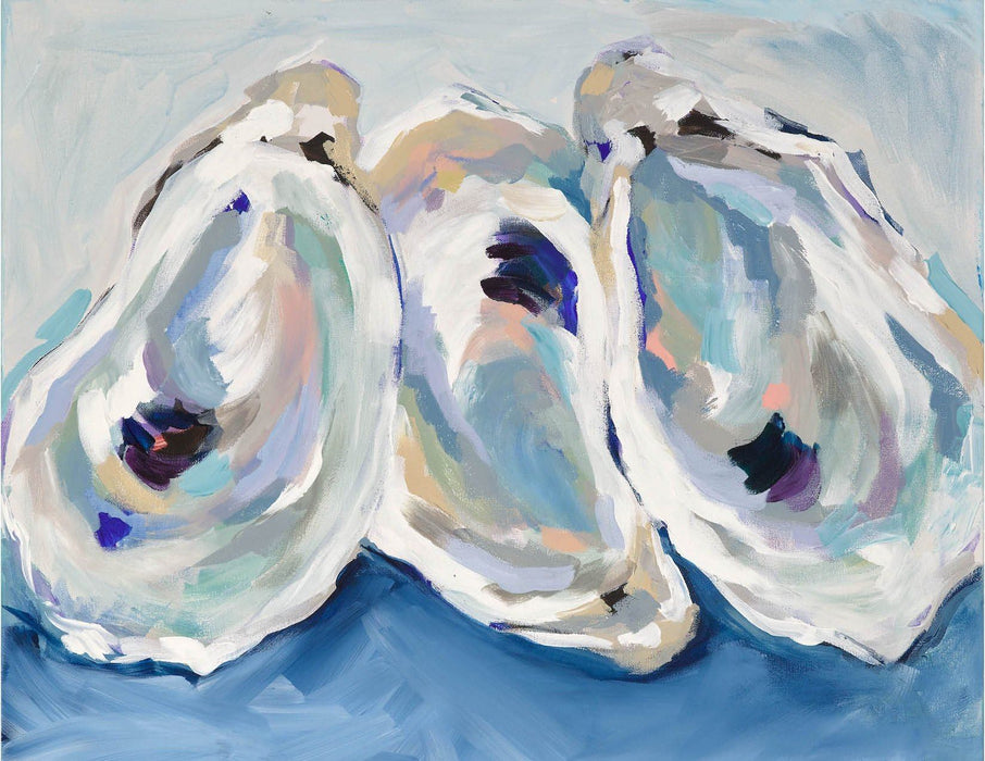Oyster Prints 8.5 X 11 Artwork Kim Hovell Annapolis Oysters