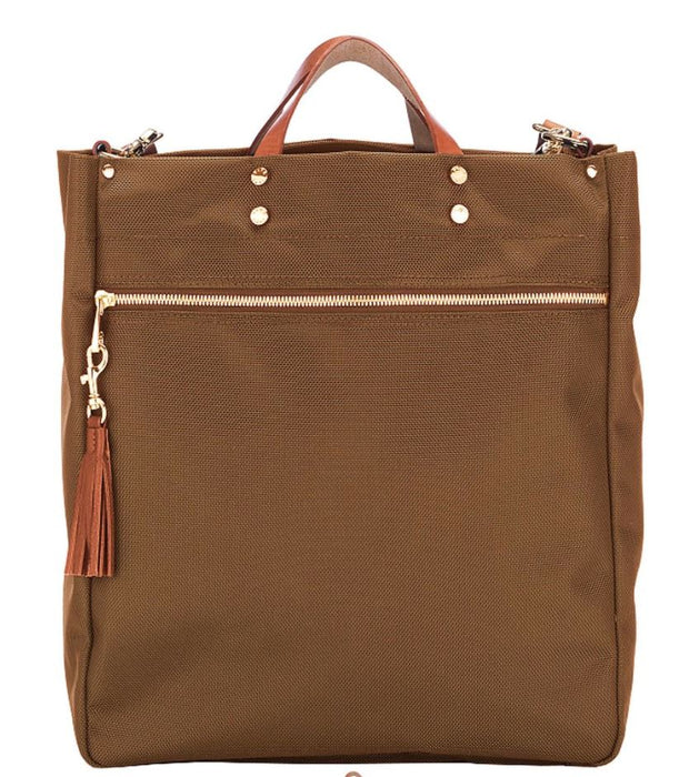 Parker Nylon Tote Bags and Totes Boulevard Camel
