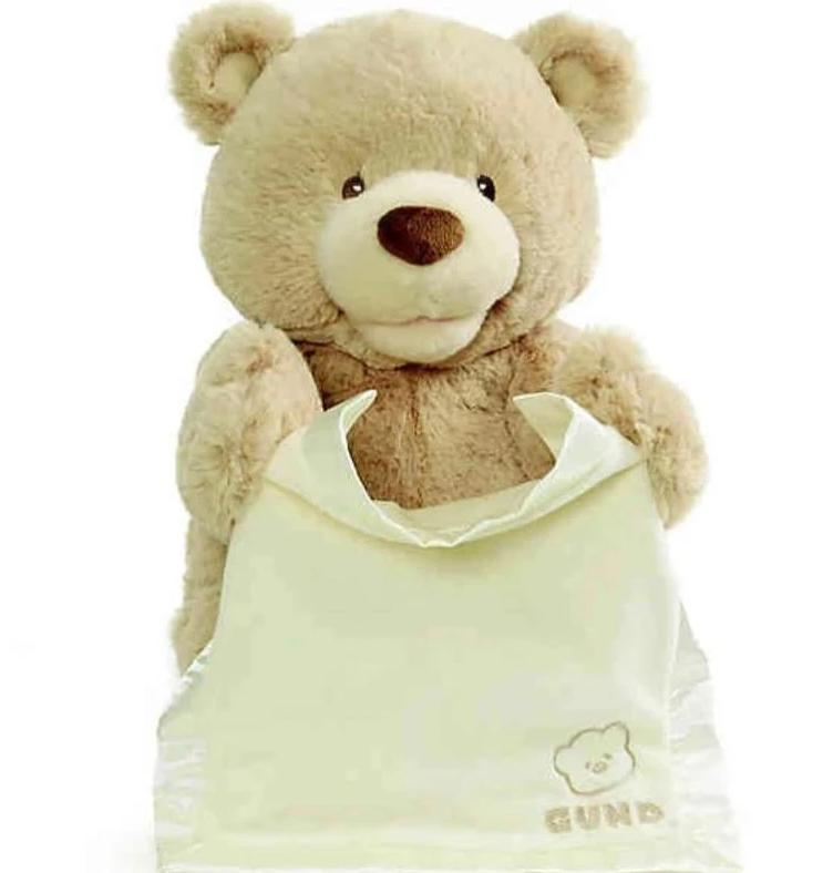 Peek-a-Boo Bear Activity Toys Gund Bear