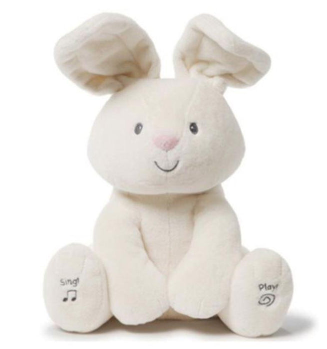 Peek-a-Boo Bunny Rabbit Activity Toys Gund Flora the Bunny