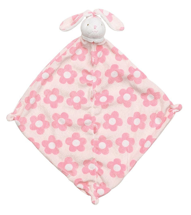 Pet Lovie Lovies Angel Dear Pink Flower Bunny