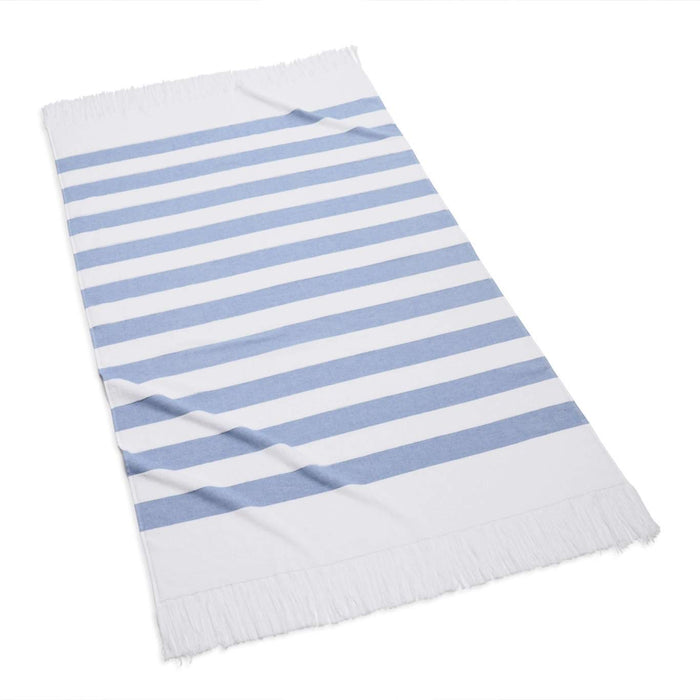 Sardinia Beach Towel Beach Towels Kassatex Periwinkle