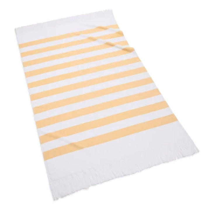 Sardinia Beach Towel Beach Towels Kassatex Yellow