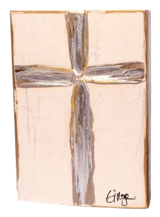 Serenity Cross Marble Home Decor Ginger Leigh Large Oblong
