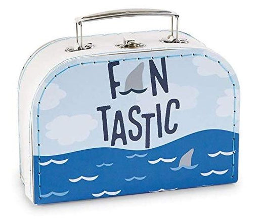 Shark Suitcase Set Toy Boxes MudPie Small