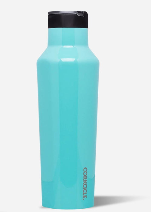 Sport Canteen 20oz Drinkware Corkcicle Turquoise