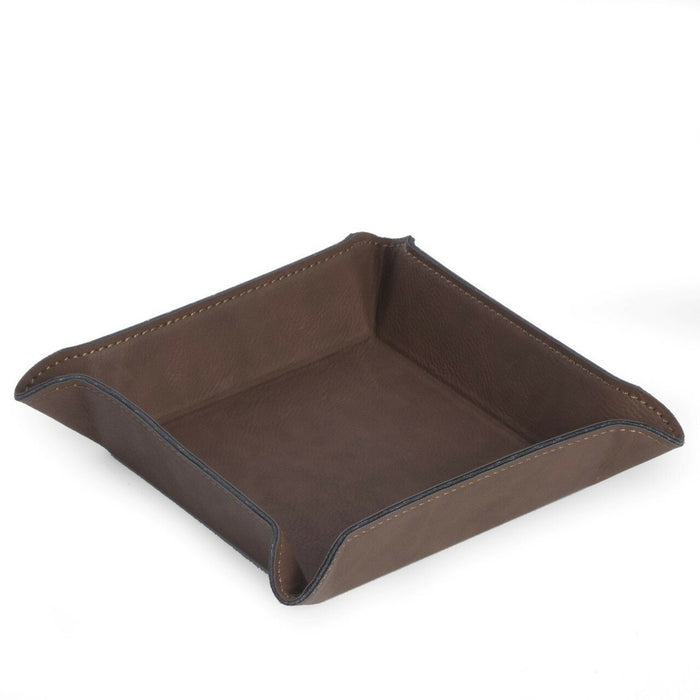 Square Leather Valet Tray Valet Trays Bey Berk Int