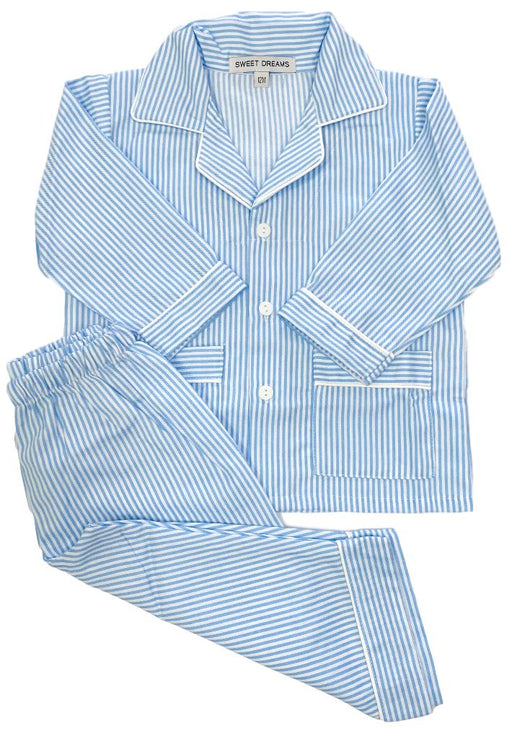 Striped Pajamas Pajamas Duc Star Blue 12m