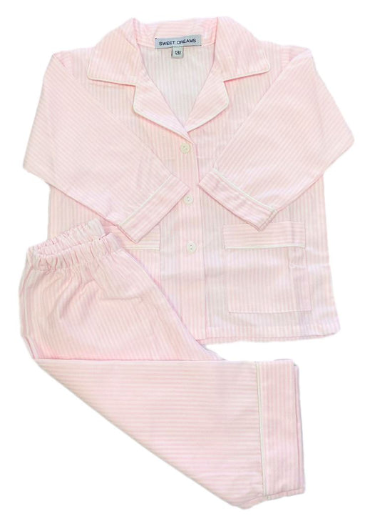 Striped Pajamas Pajamas Duc Star Pink 12m