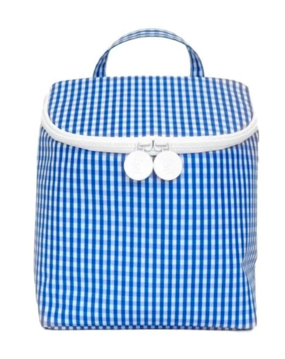 Take Away Lunch Bag Lunchbox TRVL Design Blue
