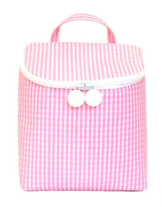 Take Away Lunch Bag Lunchbox TRVL Design Pink
