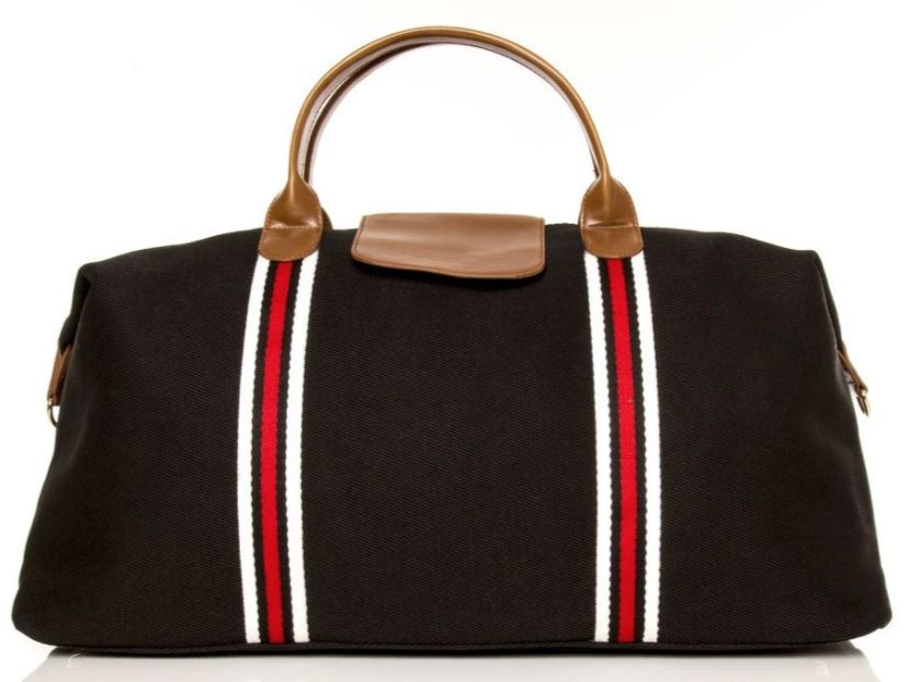 The Original Duffle Bag Bags and Totes Brouk&Co Black
