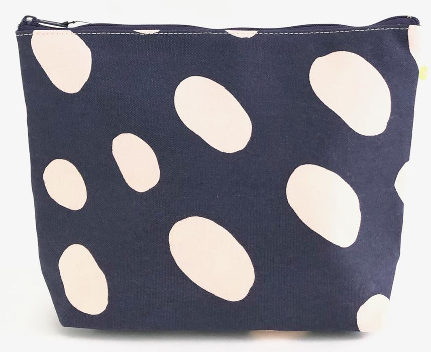 Travel Pouch - Extra Large Cosmetic/Accessories Bags See Design Indigo Big Cheetah