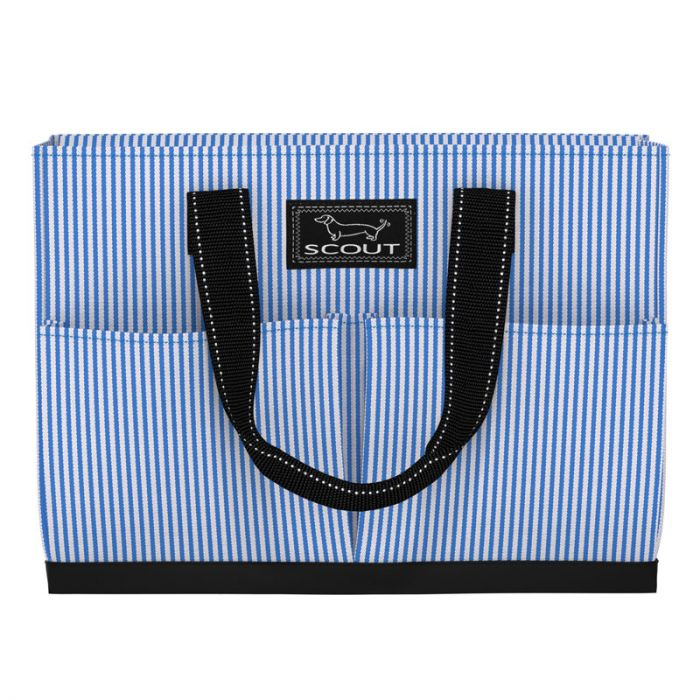 Uptown Girl- Pocket Tote Bag Bags and Totes Scout Choo Choo Blue