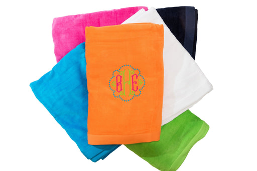 Velour Beach Towel Beach Towels Terry Town