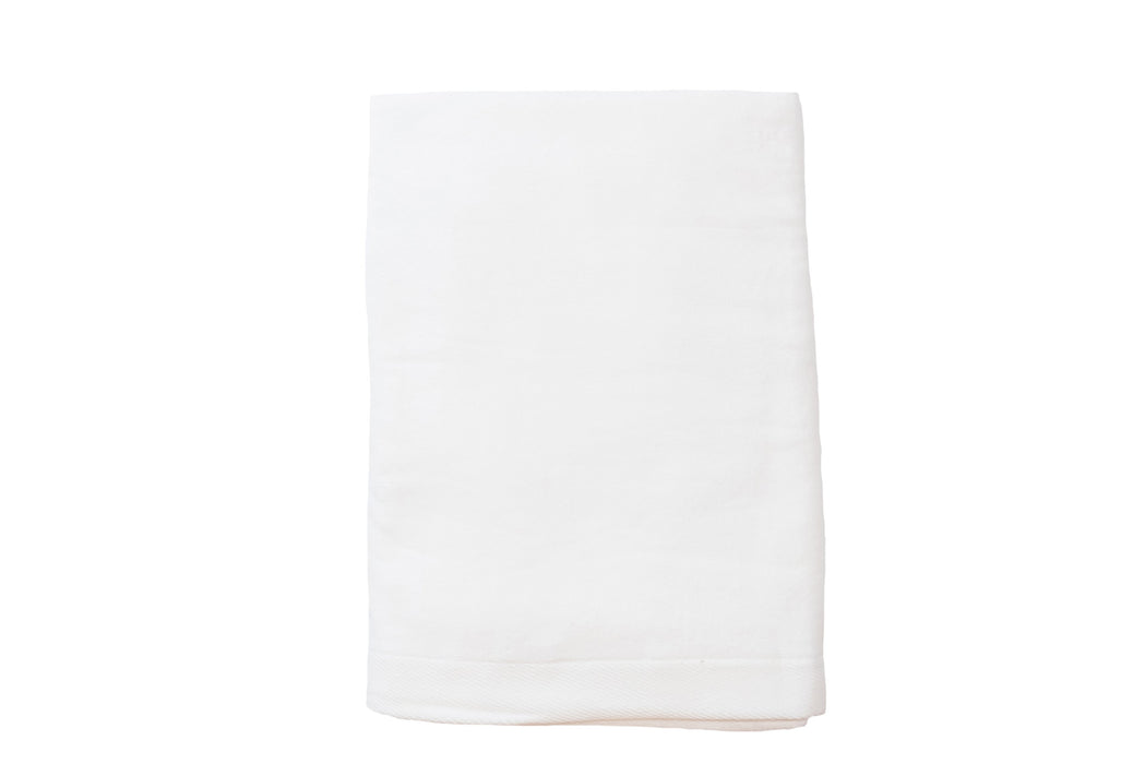 Velour Beach Towel Beach Towels Terry Town White