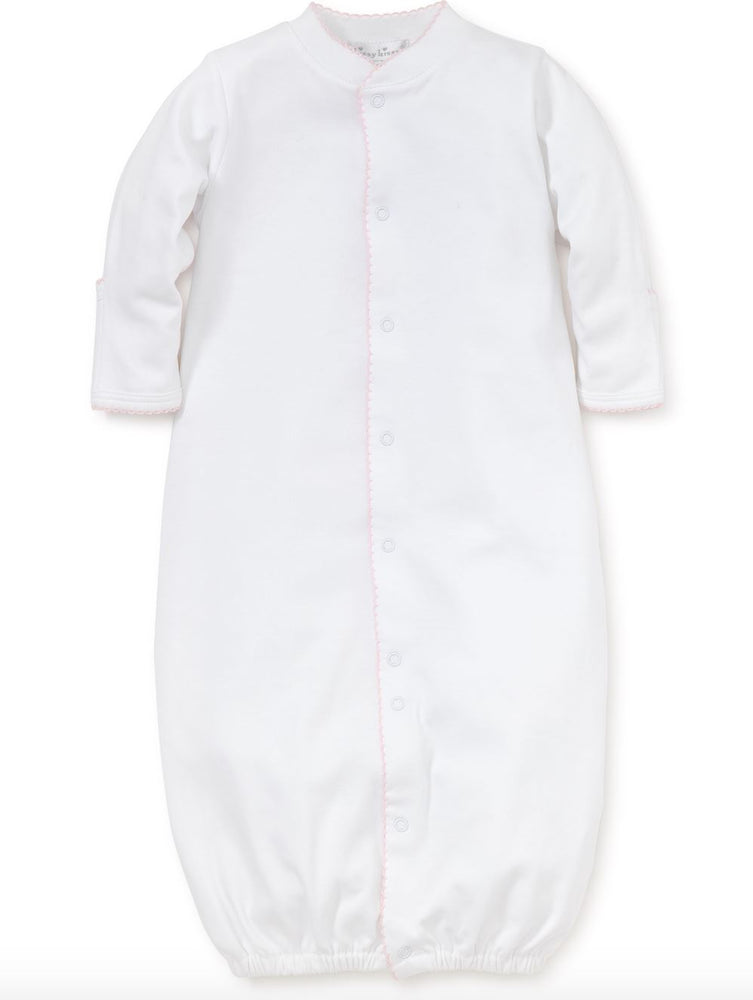 White Kissy Basics Converter Gown Baby Gown Kissy Kissy