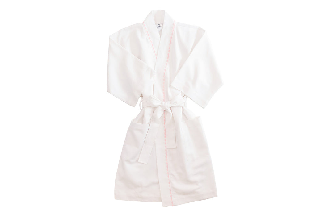 Women's RicRac Robe Robes Royalty Collection Pink RicRac Small