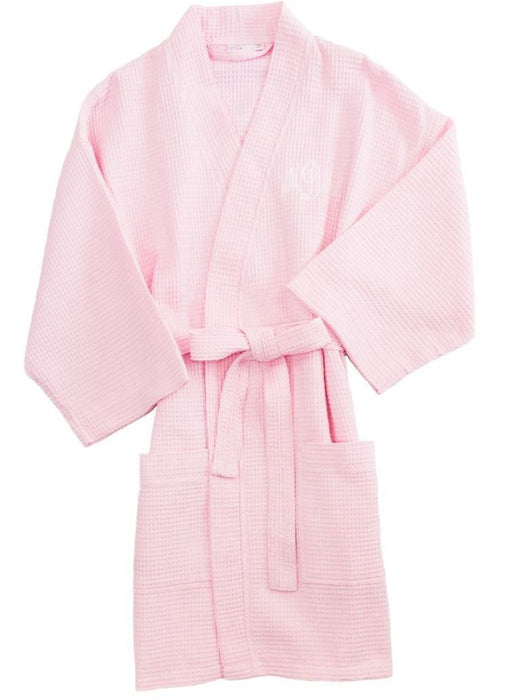 Women's Waffle Robe Robes Pendergrass Light Pink O/S