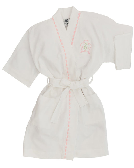 Youth RicRac Robe Robes Royalty Collection Pink RicRac Small