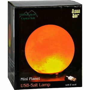 Aloha Bay Mini Planet USB Salt Lamp