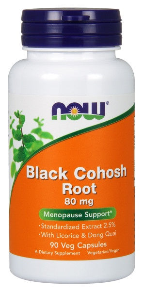 Black Cohosh Root 80 mg - 90 Veg Capsules